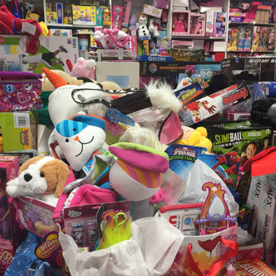 Pile of Toys for Christmas